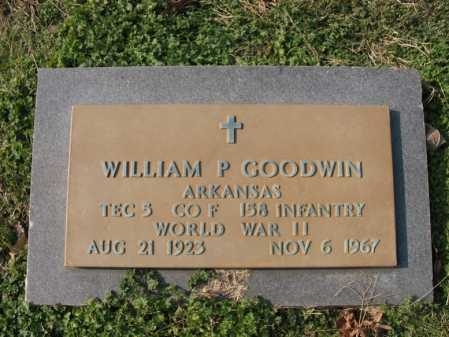 GOODWIN  (VETERAN WWII), WILLIAM PERRY - Cross County, Arkansas | WILLIAM PERRY GOODWIN  (VETERAN WWII) - Arkansas Gravestone Photos