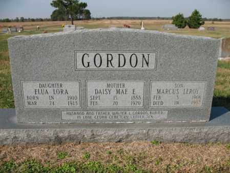 GORDON, ELUA LORA - Cross County, Arkansas | ELUA LORA GORDON - Arkansas Gravestone Photos