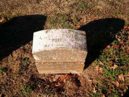 NEWTON GORDON, LADY - Cross County, Arkansas | LADY NEWTON GORDON - Arkansas Gravestone Photos