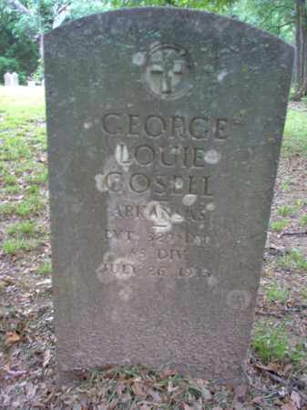 GOSELL (VETERAN), GEORGE LOUIE - Cross County, Arkansas | GEORGE LOUIE GOSELL (VETERAN) - Arkansas Gravestone Photos