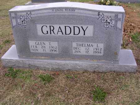 GRADDY, GLEN TATE - Cross County, Arkansas | GLEN TATE GRADDY - Arkansas Gravestone Photos