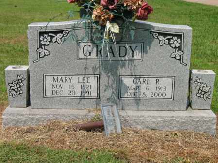 GRADY, MARY LEE - Cross County, Arkansas | MARY LEE GRADY - Arkansas Gravestone Photos