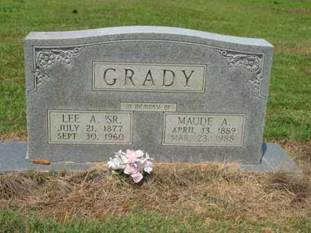 GRADY, MAUDE A - Cross County, Arkansas | MAUDE A GRADY - Arkansas Gravestone Photos