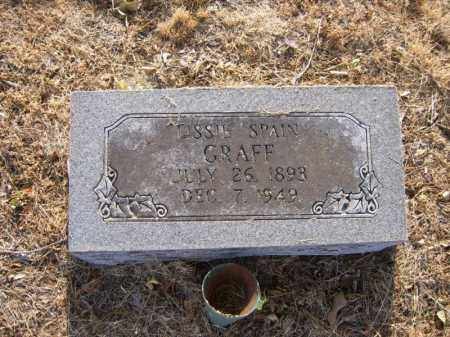 SPAIN GRAFF, LISSIE - Cross County, Arkansas | LISSIE SPAIN GRAFF - Arkansas Gravestone Photos