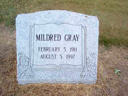 GRAY, MILDRED - Cross County, Arkansas | MILDRED GRAY - Arkansas Gravestone Photos