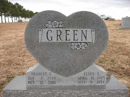 GREEN, ELDEN R - Cross County, Arkansas | ELDEN R GREEN - Arkansas Gravestone Photos