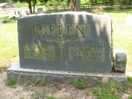 GREEN, HENRY N - Cross County, Arkansas | HENRY N GREEN - Arkansas Gravestone Photos
