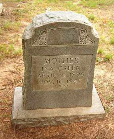 GREEN, INA - Cross County, Arkansas | INA GREEN - Arkansas Gravestone Photos