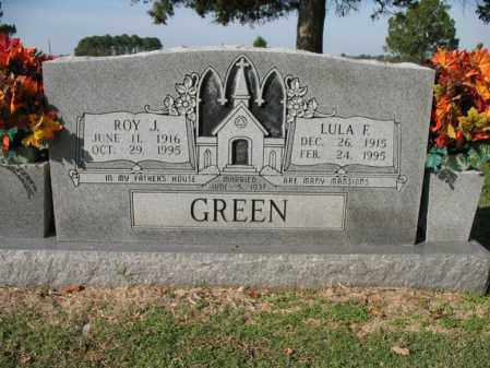 GREEN, ROY J - Cross County, Arkansas | ROY J GREEN - Arkansas Gravestone Photos
