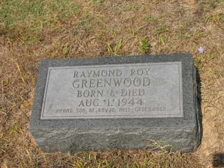 GREENWOOD, RAYMOND ROY - Cross County, Arkansas | RAYMOND ROY GREENWOOD - Arkansas Gravestone Photos