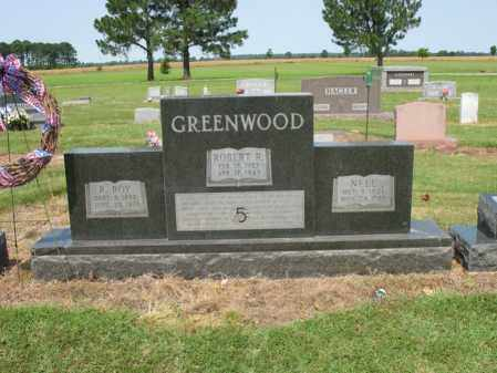 GREENWOOD, ROBERT R - Cross County, Arkansas | ROBERT R GREENWOOD - Arkansas Gravestone Photos