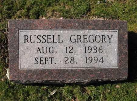 GREGORY, RUSSELL - Cross County, Arkansas | RUSSELL GREGORY - Arkansas Gravestone Photos