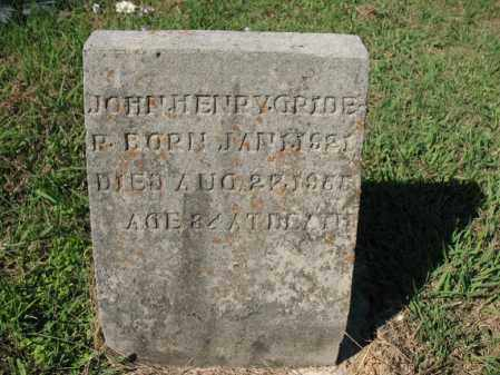 GRIDER, JOHN HENRY - Cross County, Arkansas | JOHN HENRY GRIDER - Arkansas Gravestone Photos