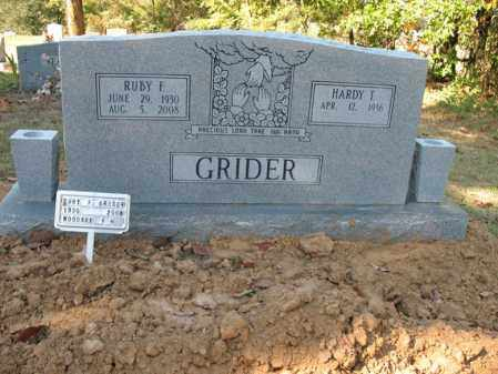 GRIDER, RUBY F - Cross County, Arkansas | RUBY F GRIDER - Arkansas Gravestone Photos