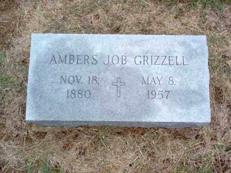 JOB GRIZZELL, AMBERS - Cross County, Arkansas | AMBERS JOB GRIZZELL - Arkansas Gravestone Photos