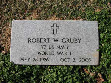 GRUBY (VETERAN WWII), ROBERT WEATHERLY - Cross County, Arkansas | ROBERT WEATHERLY GRUBY (VETERAN WWII) - Arkansas Gravestone Photos