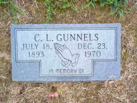 GUNNELS, C L - Cross County, Arkansas | C L GUNNELS - Arkansas Gravestone Photos