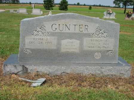 GUNTER, ELVIA JANE - Cross County, Arkansas | ELVIA JANE GUNTER - Arkansas Gravestone Photos