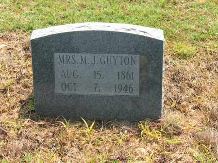 GUYTON, MRS., M J - Cross County, Arkansas | M J GUYTON, MRS. - Arkansas Gravestone Photos
