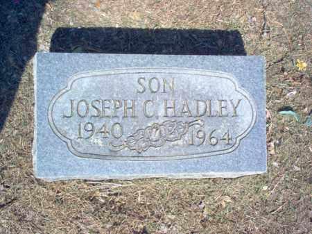 HADLEY, JOSEPH C - Cross County, Arkansas | JOSEPH C HADLEY - Arkansas Gravestone Photos