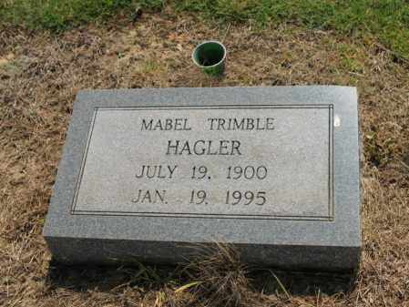 TRIMBLE HAGLER, MABEL - Cross County, Arkansas | MABEL TRIMBLE HAGLER - Arkansas Gravestone Photos