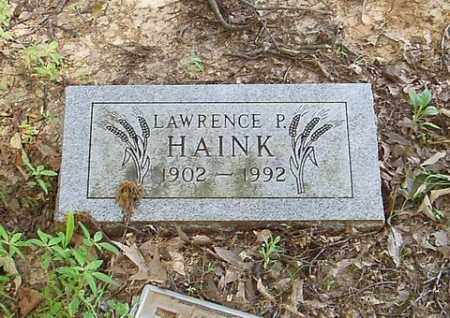 HAINK, LAWRENCE P. - Cross County, Arkansas | LAWRENCE P. HAINK - Arkansas Gravestone Photos