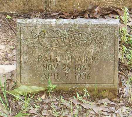HAINK, PAUL - Cross County, Arkansas | PAUL HAINK - Arkansas Gravestone Photos