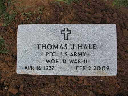 "HALE (VETERAN WWII), THOMAS JAMES ""T J"" - Cross County, Arkansas 