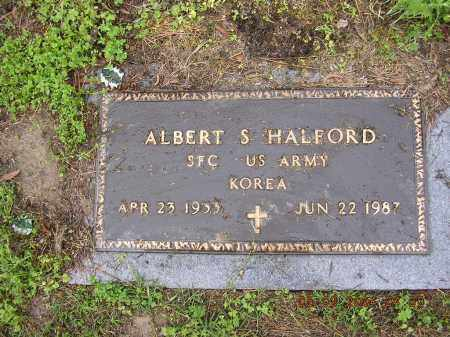HALFORD  (VETERAN KOR), ALBERT - Cross County, Arkansas | ALBERT HALFORD  (VETERAN KOR) - Arkansas Gravestone Photos