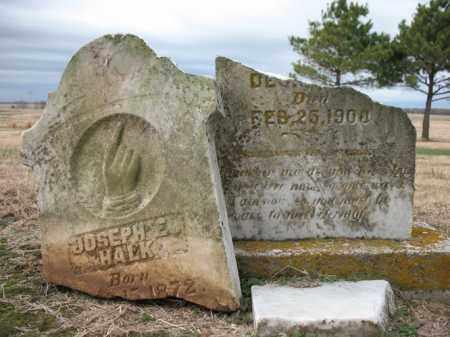 HALK, JOSEPH E - Cross County, Arkansas   JOSEPH E HALK - Arkansas Gravestone Photos