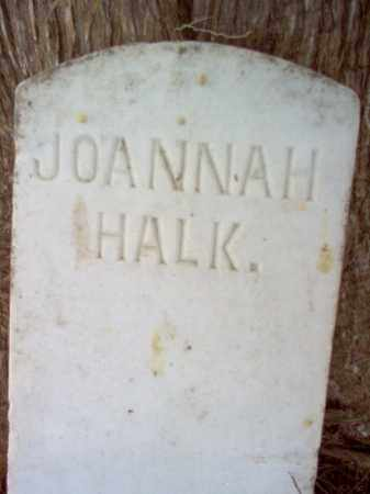 HALK, JOANNAH - Cross County, Arkansas | JOANNAH HALK - Arkansas Gravestone Photos