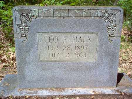 HALK, LEO F. - Cross County, Arkansas | LEO F. HALK - Arkansas Gravestone Photos