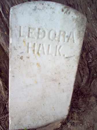 HALK, LEDORA - Cross County, Arkansas | LEDORA HALK - Arkansas Gravestone Photos