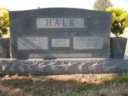 HALK, MABEL - Cross County, Arkansas | MABEL HALK - Arkansas Gravestone Photos