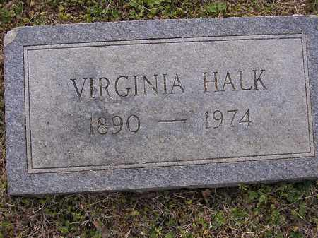 HALK, VIRGINIA - Cross County, Arkansas | VIRGINIA HALK - Arkansas Gravestone Photos