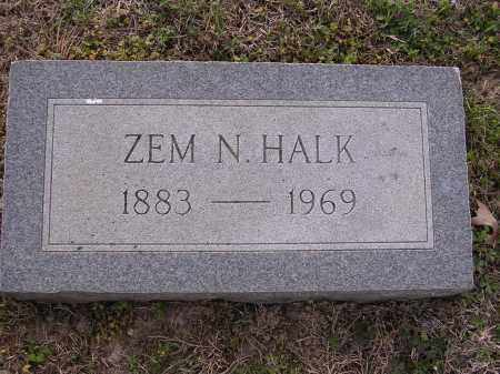 HALK, ZEM N - Cross County, Arkansas | ZEM N HALK - Arkansas Gravestone Photos