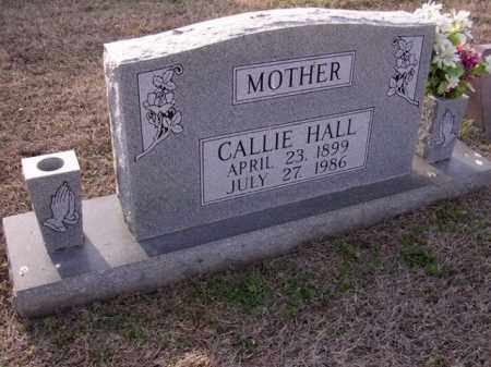HALL, CALLIE - Cross County, Arkansas | CALLIE HALL - Arkansas Gravestone Photos