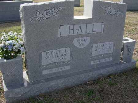 HALL, EVERETT L - Cross County, Arkansas | EVERETT L HALL - Arkansas Gravestone Photos