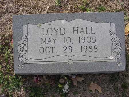 HALL, LOYD - Cross County, Arkansas   LOYD HALL - Arkansas Gravestone Photos