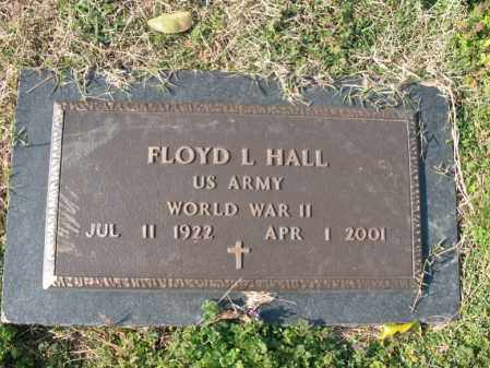 HALL (VETERAN WWII), FLOYD L - Cross County, Arkansas | FLOYD L HALL (VETERAN WWII) - Arkansas Gravestone Photos