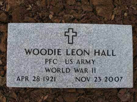HALL (VETERAN WWII), WOODIE LEON - Cross County, Arkansas | WOODIE LEON HALL (VETERAN WWII) - Arkansas Gravestone Photos
