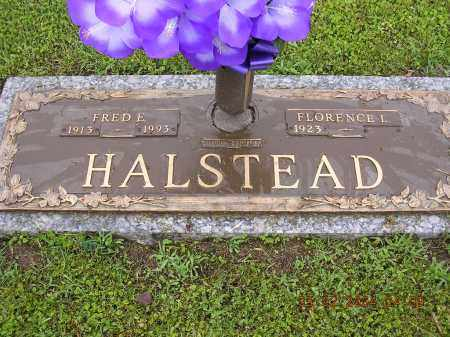 HALSTEAD, FRED E - Cross County, Arkansas | FRED E HALSTEAD - Arkansas Gravestone Photos