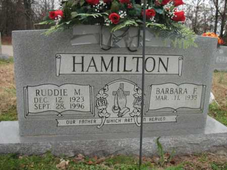 HAMILTON, RUDDIE M - Cross County, Arkansas | RUDDIE M HAMILTON - Arkansas Gravestone Photos