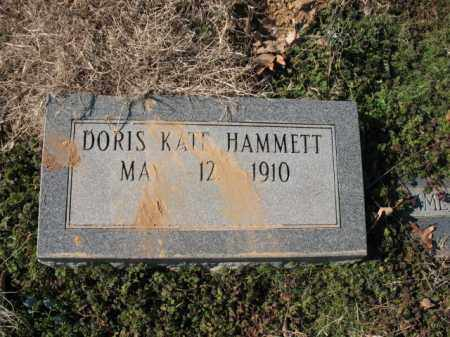 HAMMETT, DORIS KATE - Cross County, Arkansas | DORIS KATE HAMMETT - Arkansas Gravestone Photos