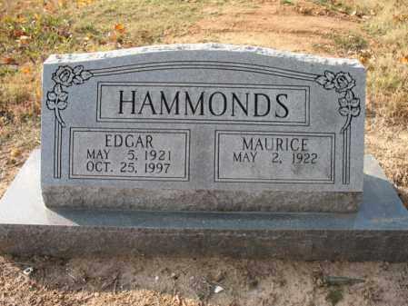 "HAMMONDS, EDGAR R  ""PAP"" - Cross County, Arkansas | EDGAR R  ""PAP"" HAMMONDS - Arkansas Gravestone Photos"
