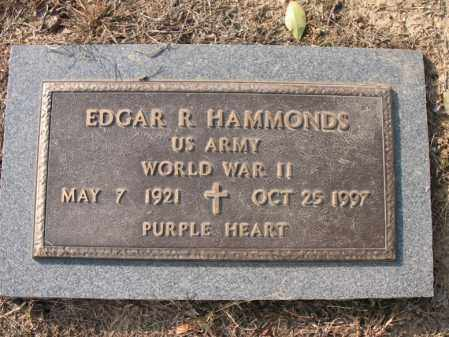 "HAMMONDS (VETERAN WWII), EDGAR R ""PAP"" - Cross County, Arkansas 