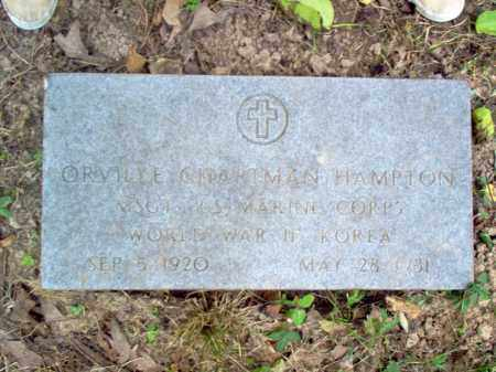 HAMPTON (VETERAN 2 WARS), ORVILLE CHAPTMAN - Cross County, Arkansas | ORVILLE CHAPTMAN HAMPTON (VETERAN 2 WARS) - Arkansas Gravestone Photos