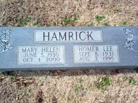 HAMRICK, MARY HELEN - Cross County, Arkansas | MARY HELEN HAMRICK - Arkansas Gravestone Photos