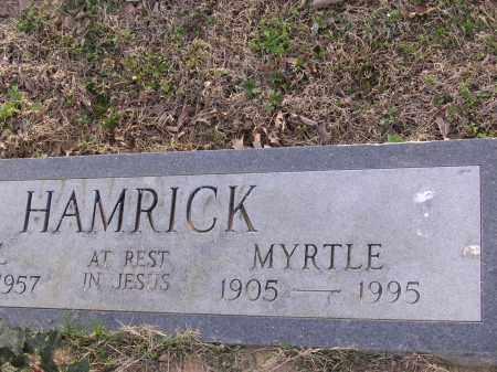 HAMRICK, MYRTLE - Cross County, Arkansas   MYRTLE HAMRICK - Arkansas Gravestone Photos