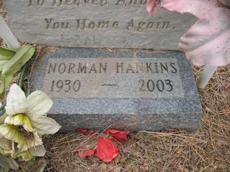HANKINS, NORMAN - Cross County, Arkansas | NORMAN HANKINS - Arkansas Gravestone Photos